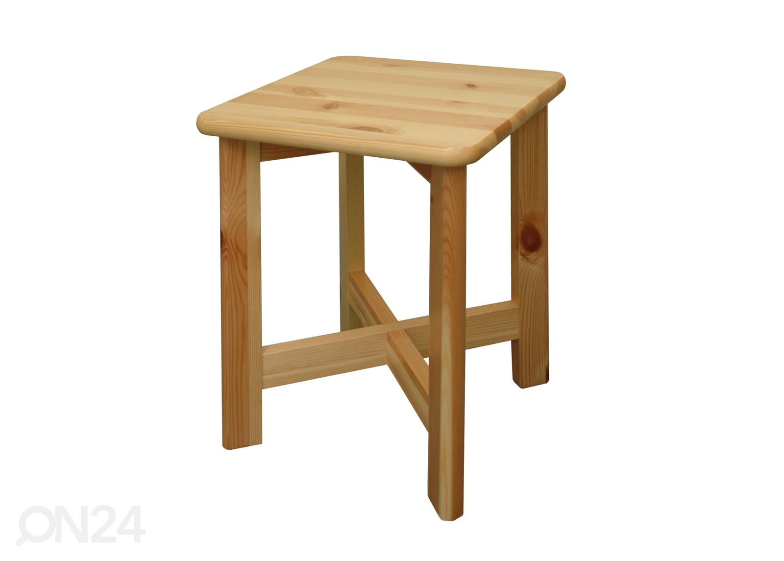 Деревянный табурет для кухни своими руками