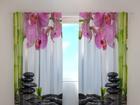 Полузатемняющая штора Orchids and bamboo 240x220 cm ED-100469