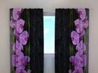 Затемняющая штора Orchids on black 240x220 cm ED-100482