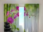 Затемняющая штора Crimson orchids 1, 240x220 cm ED-100500