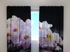 Затемняющая штора Orchids on stones 240x220 cm ED-100504