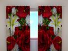 Полузатемняющая штора Roses and lilies 240x220 cm ED-100509