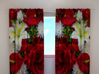 Затемняющая штора Roses and lilies 240x220 cm ED-100510