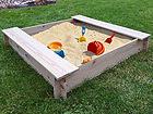 Песочница / ящик для растений 120x120 cm