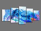 Картина из 5-частей Abstrakt 200x100 cm ED-101088