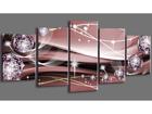 Картина из 5-частей Abstrakt 200x100 cm ED-101090
