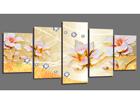 Картина из 5-частей Flowers 200x100 cm ED-101092