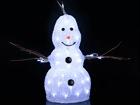 Акриловая фигура Snowman 38 cm AA-101100