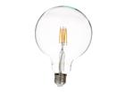 Филаментная LED лампочка G125, 6 W EW-101240