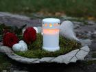 LED кладбищенская свеча AA-101321