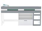 Двухъярусная кровать Filou 90x200 cm CM-102241