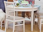 Удлиняющийся обеденный стол Family 105x165-215 cm, белый WM-102300