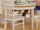 Удлиняющийся обеденный стол Family 105x165-215 cm, белый+дуб WM-102303
