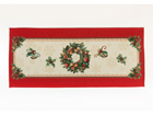 Рождественская салфетка из гобелена Fidelity 44x100 см TG-102891