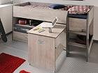 Компактная кровать Fabric 90x200 cm MA-104903
