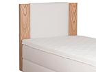 Изголовье кровати Standard с краями из дубового шпона 120x113x10 cm FR-105810
