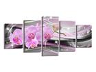 Картина из 5-частей Orchid 200x100 cm ED-106073