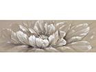 """Масляная картина """"Белый цветок"""" 50x150 cm EV-106548"""