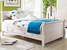 Кровать с ящиком Malta 100x200 cm EC-107310