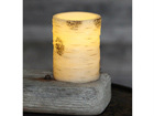 LED свеча из воска 10 см AA-107334