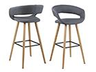 Барные стулья Grace, 2 шт CM-107630