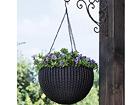 Подвесной цветочный горшок Sphere Planter, коричневый TE-109017