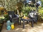Комплект садовой мебели Rosario, graphite TE-109087