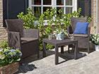 Комплект садовой мебели Rosario, коричневый TE-109088