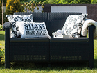 2-местный садовый диван Corfu, graphite TE-109151