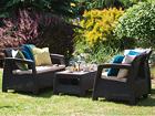 Комплект садовой мебели Keter Corfu, коричневый TE-109154