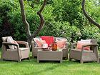 Комплект садовой мебели Corfu, cappuccino TE-109160