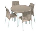 Комплект садовой мебели Keter Jersey, cappuccino TE-109187