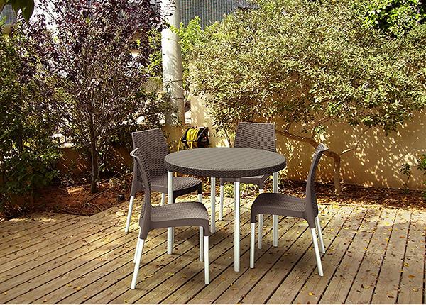 Комплект садовой мебели Keter Jersey, коричневый TE-109189