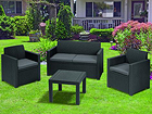Комплект садовой мебели Alabama, graphite TE-109190