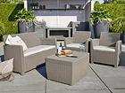 Комплект садовой мебели Keter Corona, cappuccino TE-109202