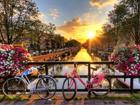 Флизелиновые фотообои Amsterdam Channels 360x270 cm ED-109407