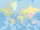 Флизелиновые фотообои World map 360x270 cm ED-109412