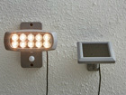 Настенный светильник с солнечной панелью AA-109500