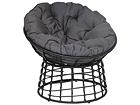 Кресло из ротанга Aada, чёрный EI-110509