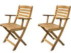 Складной садовый стул Venezia, 2 шт SI-112302