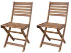 Складной садовый стул Stresa, 2 шт SI-112308