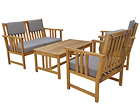 Комплект садовой мебели Monopello, серый SI-112829