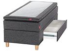 Sleepwell Black континентальная кровать с ящиком
