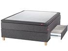 Sleepwell Black континентальная кровать с ящиком 140x200 cm SW-113750