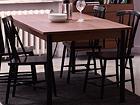 Удлиняющийся обеденный стол Sheffield 160-240x90 cm MA-114348