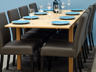Удлиняющийся обеденный стол Nova 139-179x90 cm MA-114358