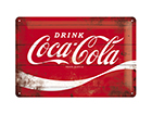 Металлический постер в ретро-стиле Coca-Cola Logo 20x30 cm SG-114878