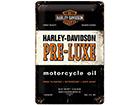 Металлический постер в ретро-стиле Harley-Davidson Pre-Luxe 20x30 cm SG-114889