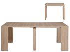 Консольный / удлиняющий обеденный стол Helena 43-200x95 cm MA-114898