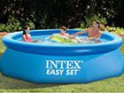 Бассейн с фильтровым насосом Intex Easy Set 244x76 cm